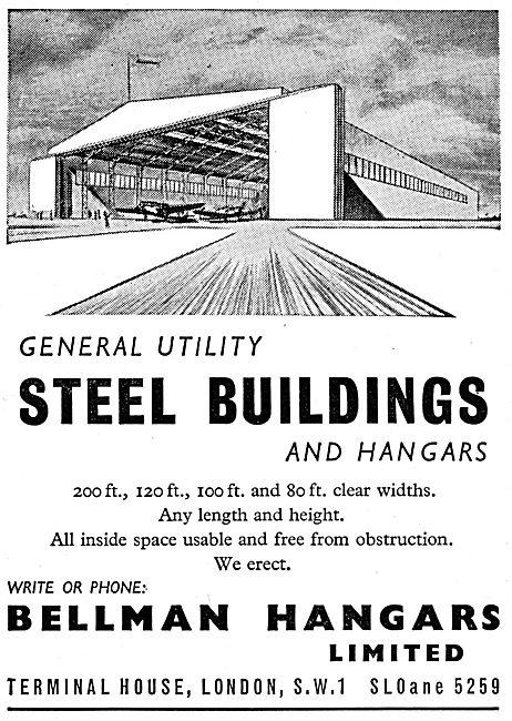 Bellman Hangars & Utility Steel Buildings