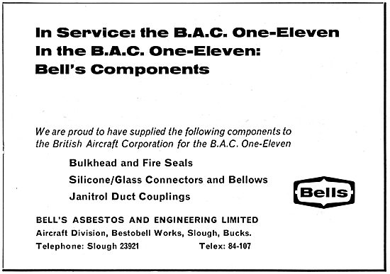 Bell's Asbestos. Seals, Connectors & Couplings
