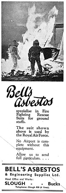 Bell's Asbestos Fire Fighting & Rescue Suits