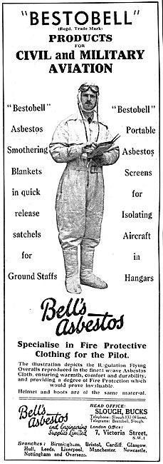 Bell's Asbestos Products - Bestobell Suits