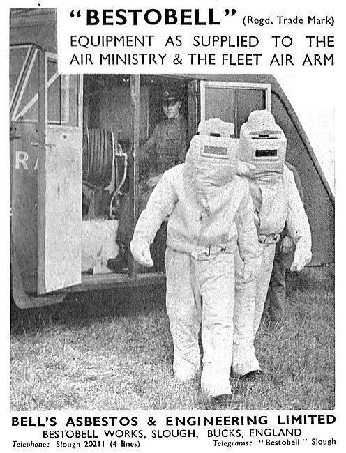Bell's Asbestos - Bestobell  Asbestos Firemans Equipment