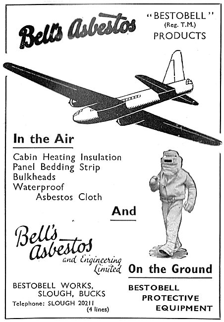 Bell's Asbestos - Protective Clothing - Aircraft Insulation