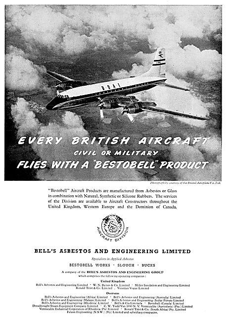 Bell's Asbestos Products - Bestobel