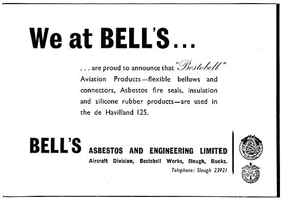 Bestobell. Bell's Asbestos Bellows, Seals & Insulation
