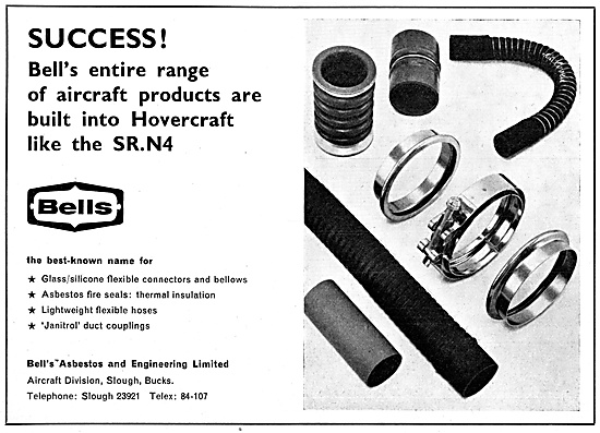 Bell's Asbestos Products. Janitrol Duct Couplings. Flexible Hoses