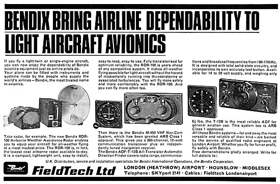 Bendix Fieldtech Light Aircraft Avionics Systems