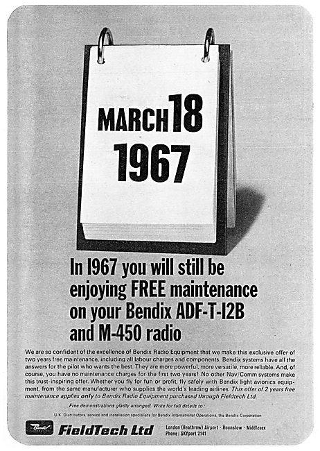 Bendix Fieldtech ADF-T-12B - M-450 Radio