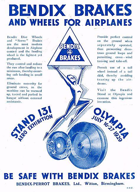 Bendix Brakes & Wheels For Aircraft