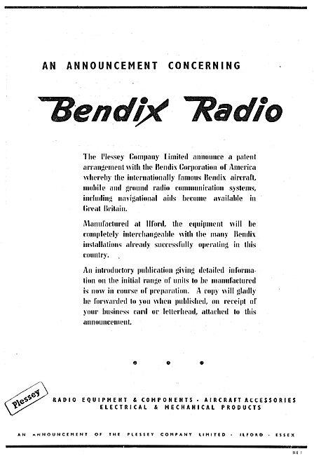 Plessey Bendix