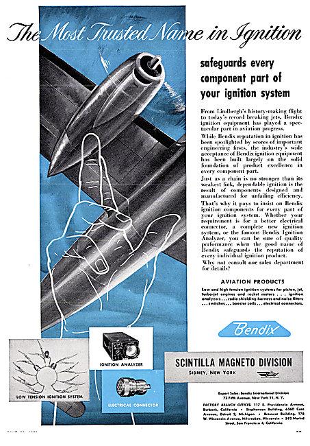 Bendix Scintilla Magnetos & Ignition Components