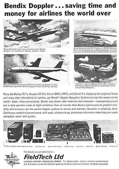 Bendix Avionics - Bendix Doppler. FieldTech