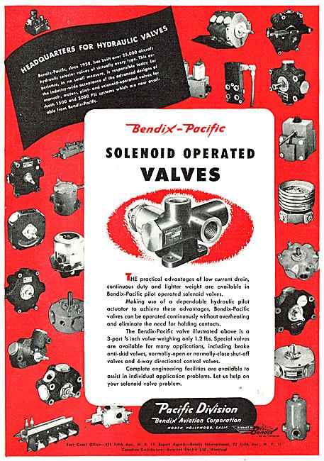 Bendix Pacific Solenoid Operated Valves