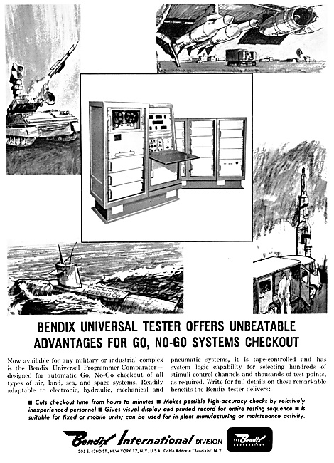 Bendix Corp : Bendix Avionics & Electronic Systems