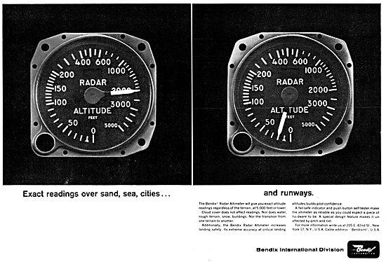 Bendix Corp : Avionics & Electronic Systems. Radar Altimeter