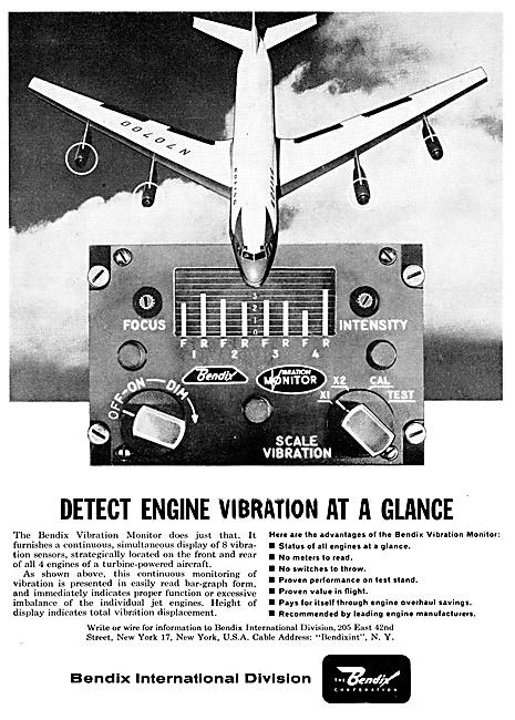 Bendix Avionics - Engine Vibration Monitors