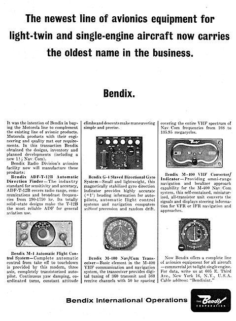 Bendix Corp : Avionics & Electronic Systems
