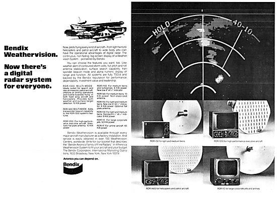 Bendix Weathervision - RDR-1300 Weather Radar