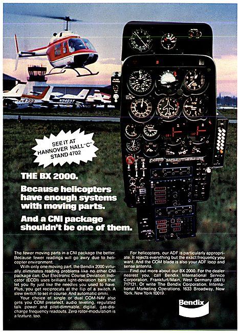 Bendix Avionics - Bendix BX 2000 CNI Package