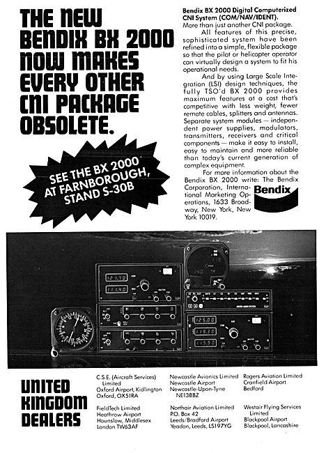 Bendix Avionics -  Bendix BX 2000 Nav/Com System