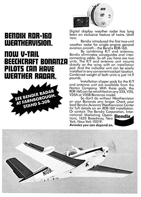 Bendix Avionics -  Bendix RDR-160 Weathervision Radar