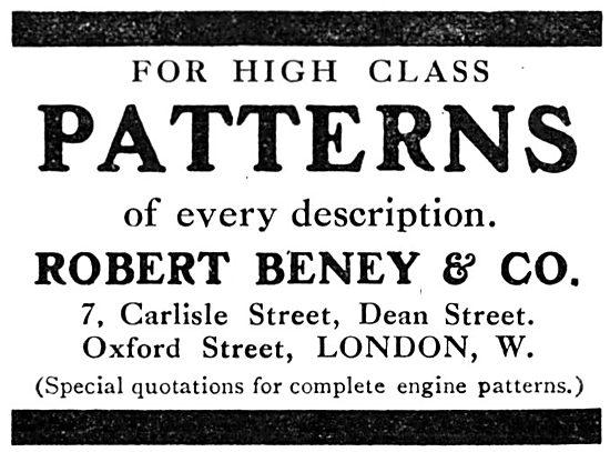 Robert Beney & Co. Engineering Patterns