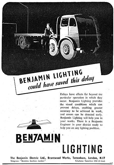Benjamin Electric - Benzamin Factory Lighting