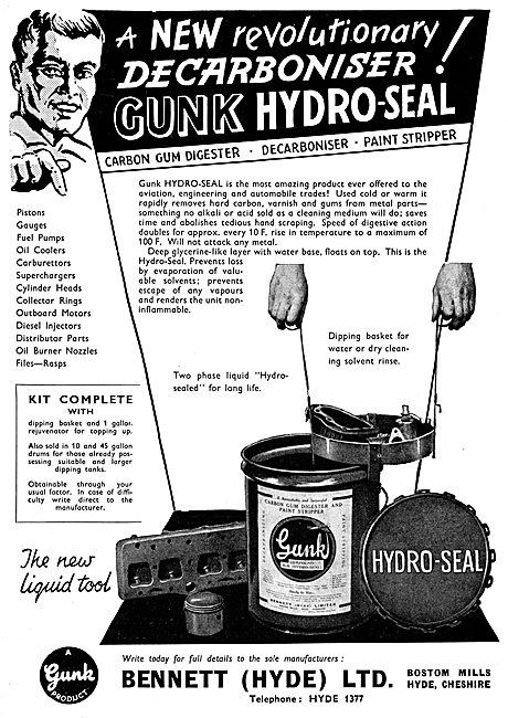 Gunk De-Greaser - GUNK Hydro-Seal Decarboniser