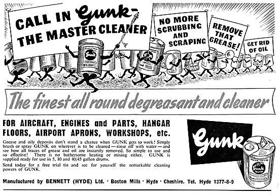 Gunk Component Degreasing Fluid