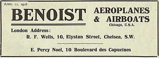 Benoist Aeroplanes & Airboats