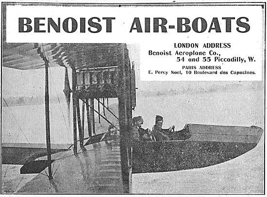 Benoist Air-Boats. E.Percy Noel Paris