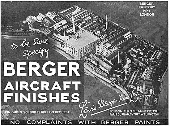 Berger Aircraft Finishes