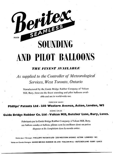 Beritex Sounding & Pilot Balloons