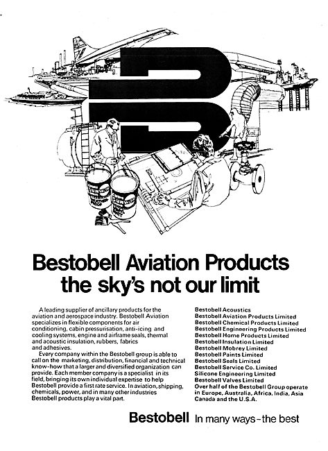 Bestobell Aviation Products 1977