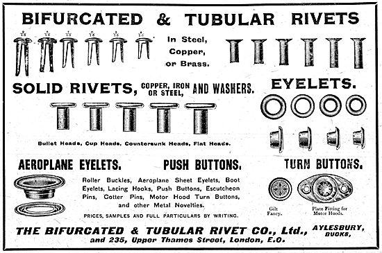 Bifurcated & Tubular Rivets