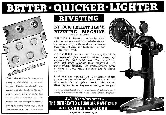 Bifurcated & Tubular Rivet Flush Riveting Machine