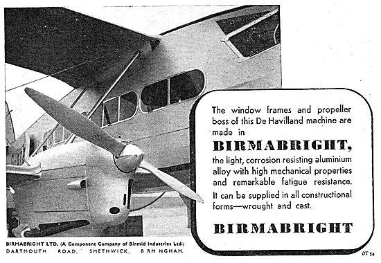 Birmabright Aluminium Alloys