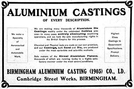 Birmid: Birmingham Aluminium - Aluminium Castings