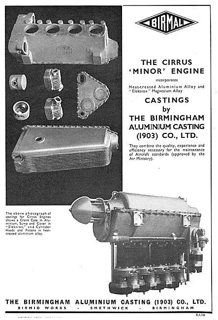 Birmal: Birmingham Aluminium - Quality Aero Castings