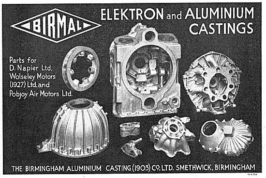 Birmal: Birmingham Aluminium - Quality Elektron Aero Castings