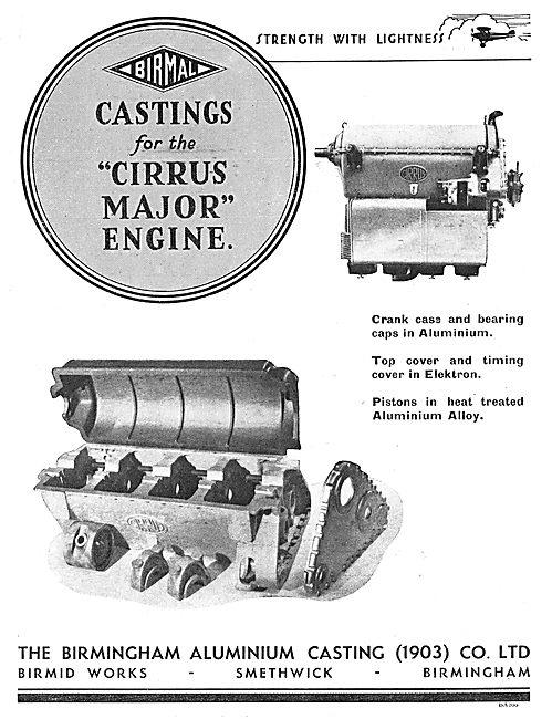 Birmal: Birmingham Aluminium - Castings For The Cirrus Major