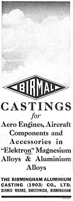 Birmal: Birmingham Aluminium - Elektron & Aluminium  Castings