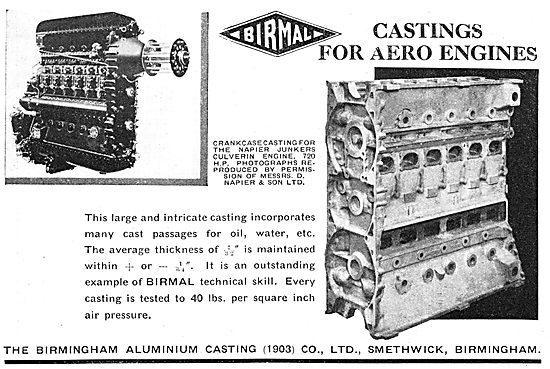 Birmal: Birmingham Aluminium Castings - Aero Castings