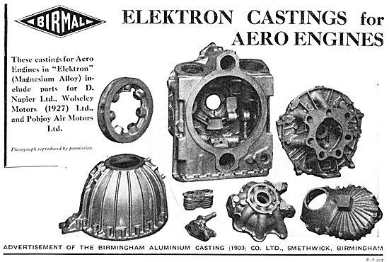 BIRMAL: Birmingham Aluminium Castings - Elektron Castings