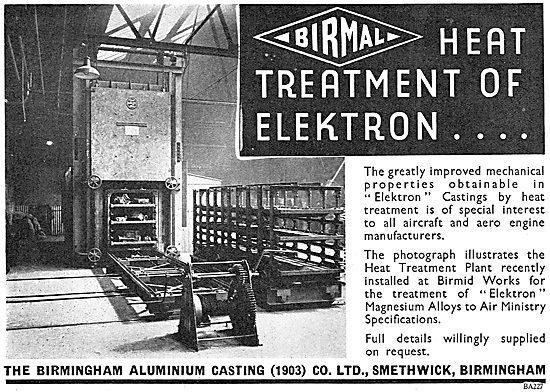 Birmid: Birmingham Aluminium - Quality Aero Castings