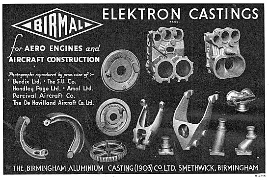 Birmid: Birmingham Aluminium - Quality Elektron Aero Castings