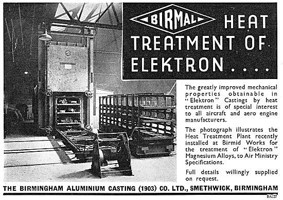 Birmid: Birmingham Aluminium - Elektron Heat Treatment