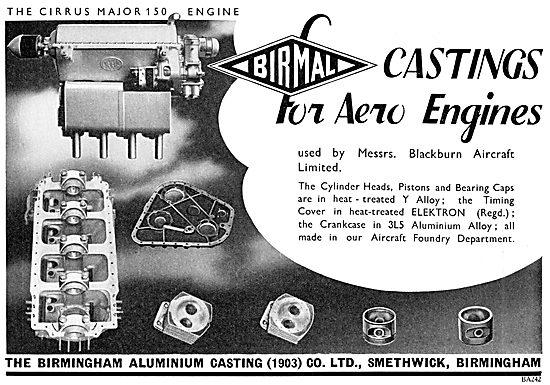 Birmal: Birmingham Aluminium -  Aero Engine Castings Elektron