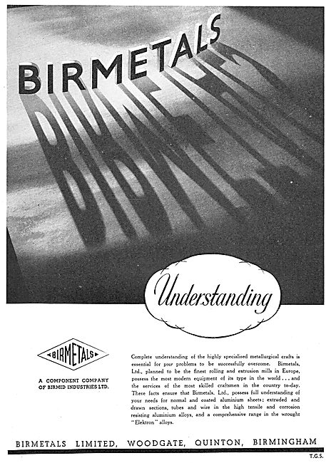 Birmetals For Extruded, Drawn & Coated Aluminium.