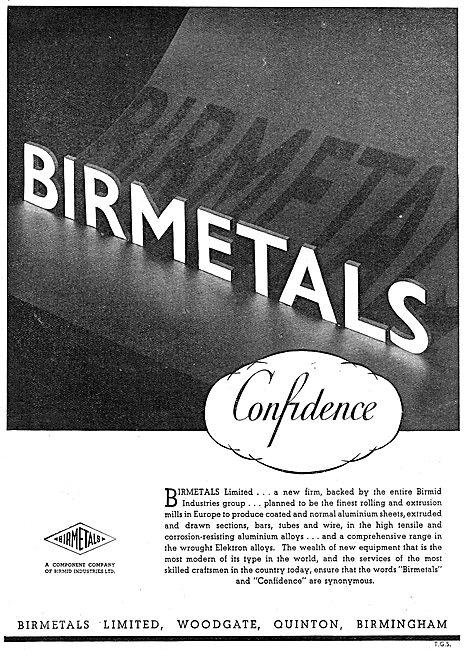 Birmetals Extruded, Drawn & Coated Aluminium.
