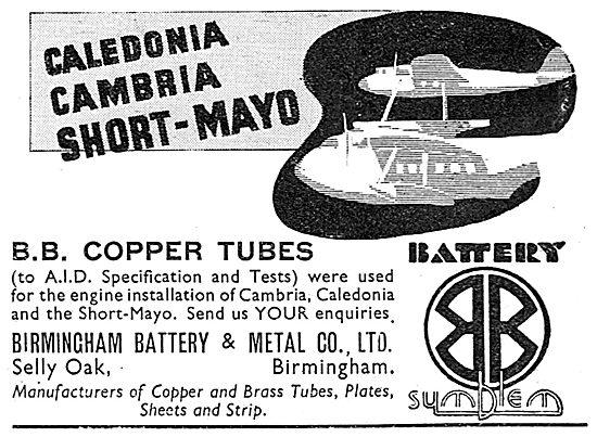Birmingham Battery Copper Tubing